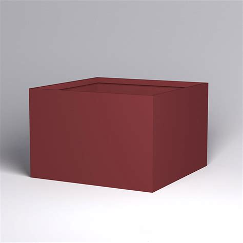 Modern Square Planter by 72 Quot Square X 48 Quot H Fiberglass Planter Any Color