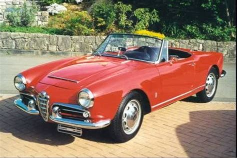 Alfa Romeo 1600 Spider Alfa Romeo Giulietta 1600 Spider Photos Reviews News