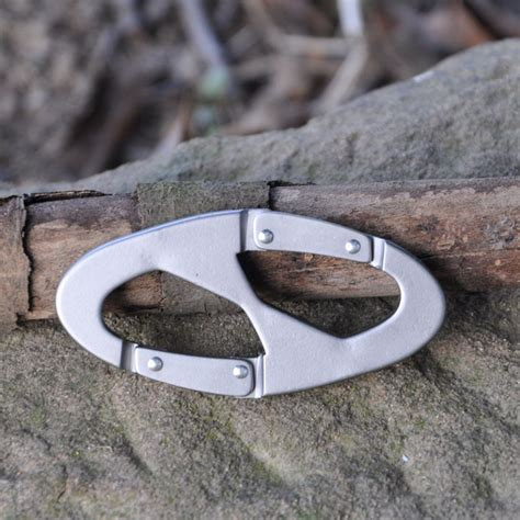 Carabiner Mountaineering 8 Shaped Carabiner Mountaineering 8 Shaped Silver Jakartanotebook