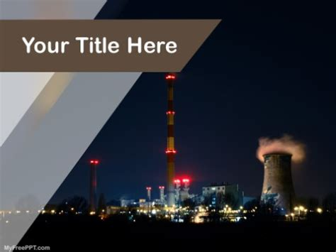 Free Industry Production Powerpoint Templates Themes Ppt Air Pollution Ppt Templates Free