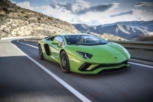 Lamborghini In 2018 Lamborghini Aventador S Front Three Quarter In Motion