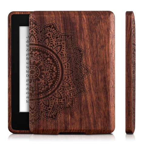 kindle paperwhite funda kwmobile funda de madera para kindle paperwhite