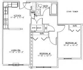 Two Bedroom House Floor Plans 2 Bedroom Floor Plans 30x30 2 Bedroom House Floor Plans