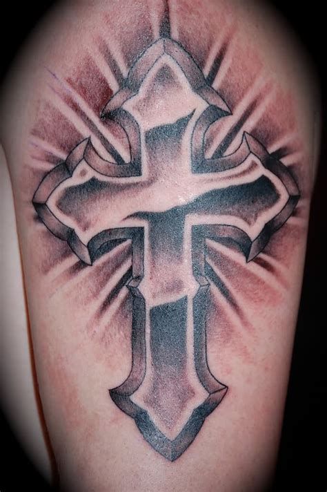 3d tattoos cross 105 beautiful 3d cross
