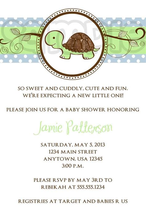Turtle Baby Shower Invitations Boy by 401 Best Images About It Is A Boy Baby Shower Ideas On
