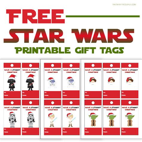wars tags free wars themed printable gift tags