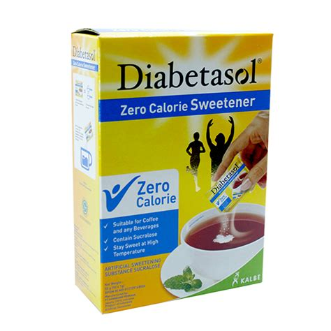 Diabetasol No Calorie Sweetener Stevia diabetasol sweetener 75g the diabetes store