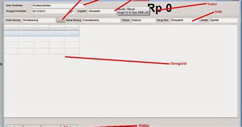 tutorial membuat aplikasi delphi membuat aplikasi penjualan pos dengan delphi part7