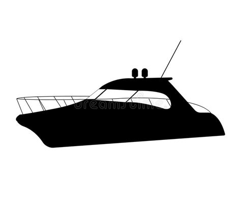 boat clipart silhouette speedboat flat icon and sign silhouette vector