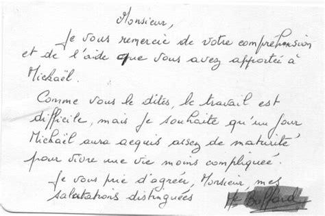 Lettre De Remerciement Travail Accompli Troisi 232 Me Article De Yanick Philipponnat Vs Yves Philippe