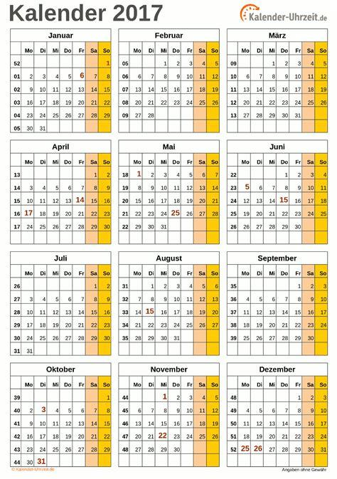 kalender 2017 zum ausdrucken kostenlos search results