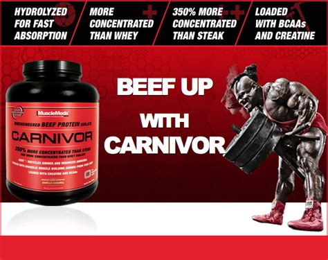 Beef Protein musclemeds carnivor