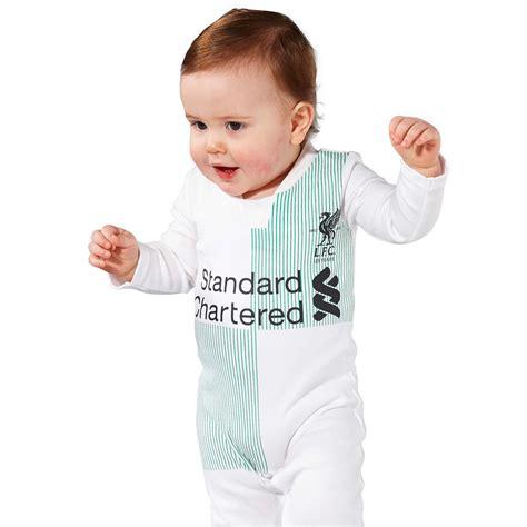 Baby Romper Liverpool Home 1516 lfc away sleepsuit 17 18