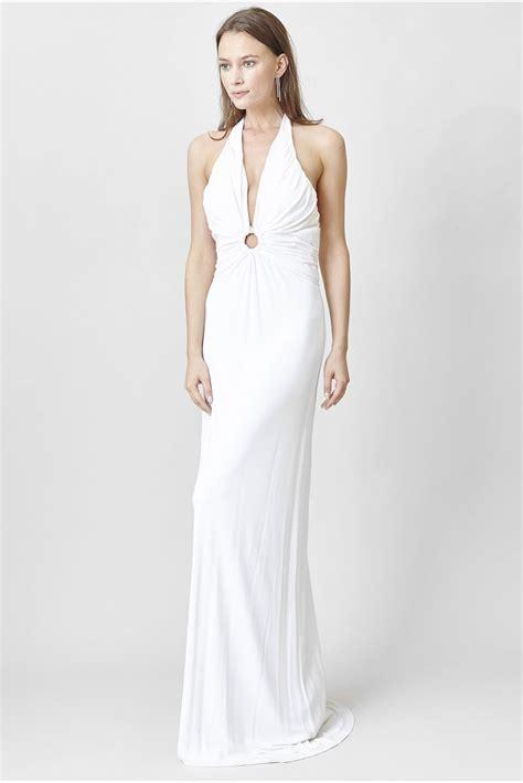 robe de chambre blanche c est ma robe azzaro robe longue blanche dos nu