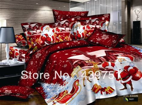 christmas comforter sets queen aliexpress com buy hot sale kids christmas bedding set
