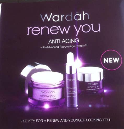 Wardah Renew You Anti Aging Day kosmetik wardah kuala lumpur