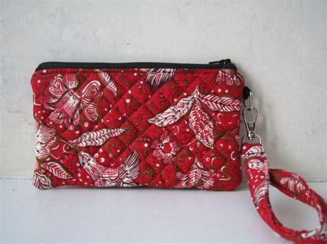 Handmade Wristlet - handmade wristlet clutch purse floral by bonecalinda