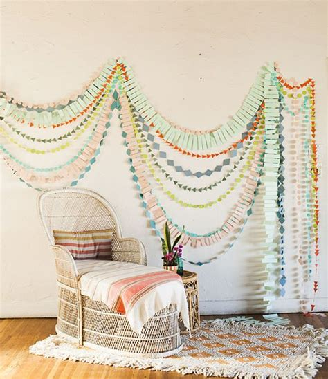 Rumbai Tassel Garland Decoration Stuff multi strand garland decoration recycled crafts