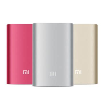 Pasaran Power Bank Xiaomi original xiaomi 5 1v 2 1a 10000mah power bank for smartphone sale banggood sold out