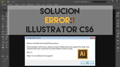 adobe illustrator cs6 no es compatible con el idioma solucionar el error 1 de illustrator cs6 youtube