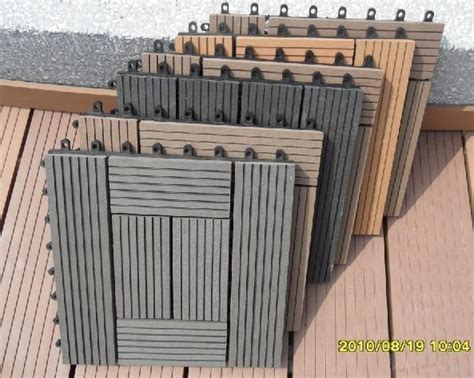 Easy Home Design Online Wood Plastic Composite Diy Easy Decking Tiles Edt
