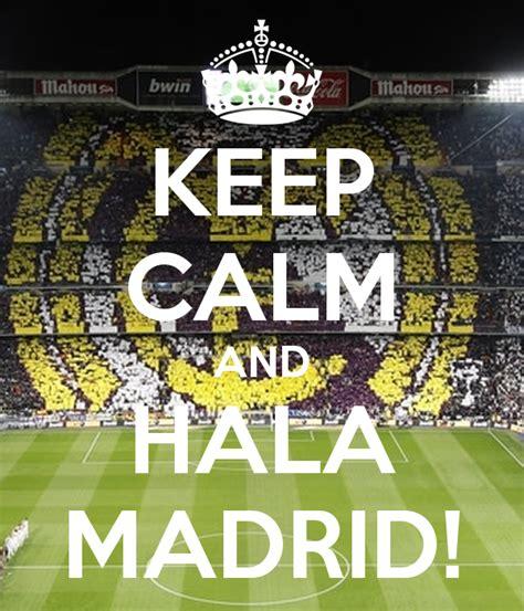 Kaos Keep Calm And Hala Madrid keep calm and hala madrid poster felipe augusto keep