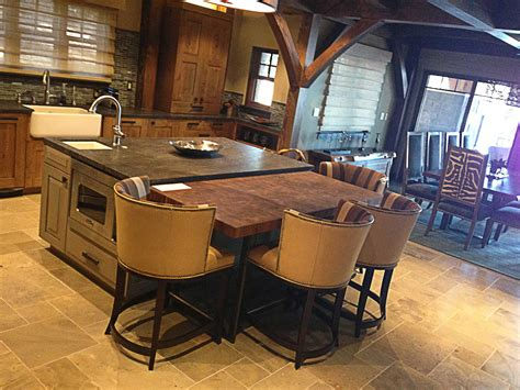 grandiose brown rectangle kitchen table on great