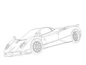 pagani zonda f coloring pages coloring pages