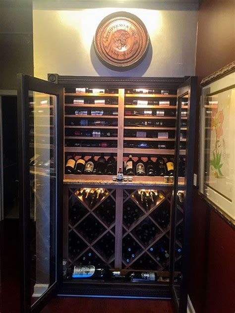 Wine Storage Closet by Convert A Closet Into A Wine Cellar Baroque Design