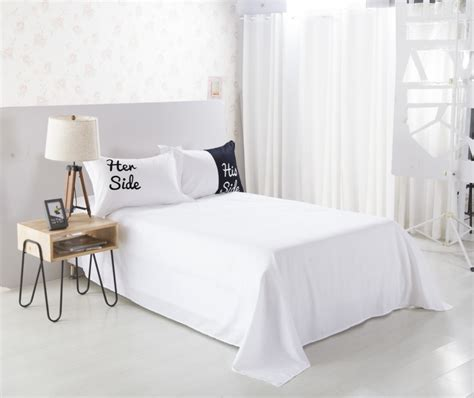 his and her comforter sets lover his and her side black white king bed size duvet