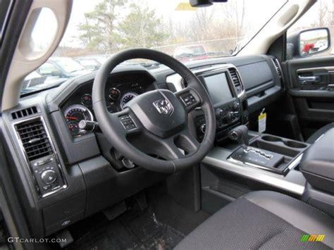 black interior 2013 ram 1500 sport cab 4x4 photo