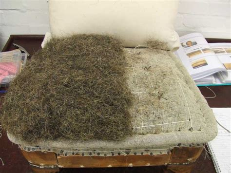 horsehair upholstery stuffing reupholstery restoration rosie shaw upholstery