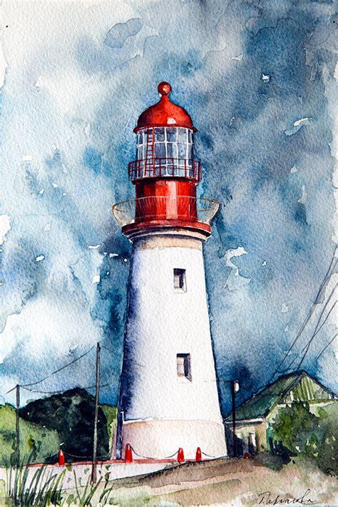 lighthouses  behance