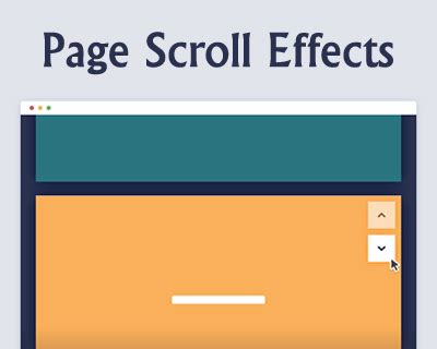 tutorial scroll to jquery scroll effect jquery plugins