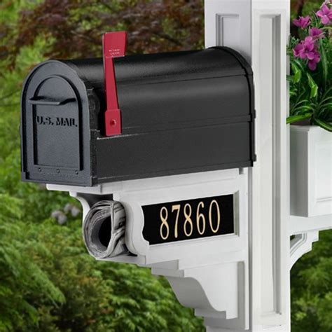 hanging address plaques for l post mailbox post with address plaque mailbox free engine
