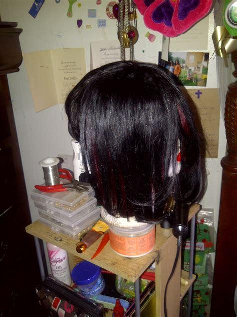 shaybeautie quick weave wig bob   piece hair