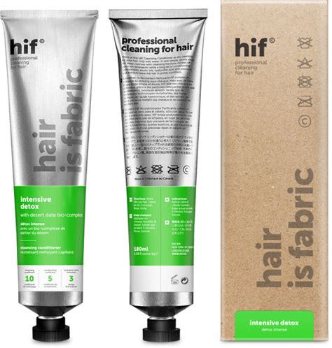 Hair Is Fabric Intensive Detox by Cleansing Sulfate Free Clarifying Shoo Hair Detox