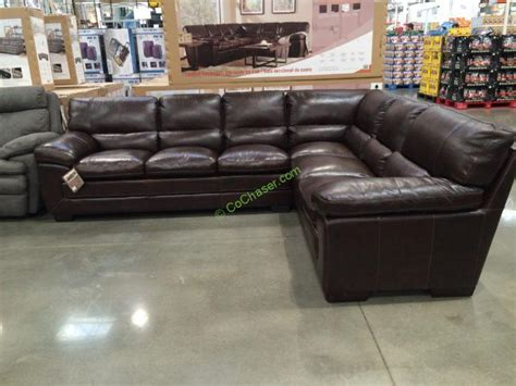 Simon Li Leather Sectional Costcochaser Simon Li Leather Sofa Costco