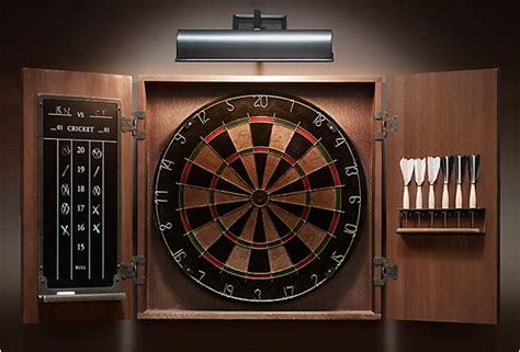 Electronic Dart Board Cabinet Set by Tournament Dartboard Set