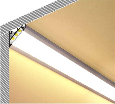 illuminazione strisce led profilo angolare strisce led corner27 vendita illuminazione