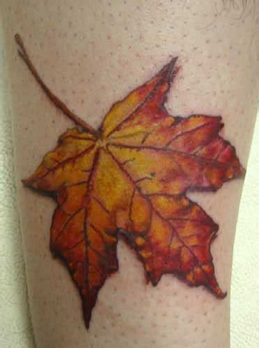 autumn leaf tattoo autumn maple leaf meaning reservation balance
