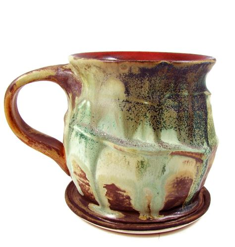 Handmade Pottery Mugs - large ceramic mug porcelain cup handmade pottery mugs
