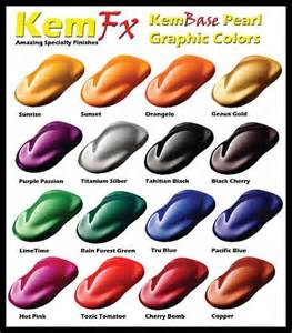 car paint colors pearl car paint basecoat clearcoat car paint kit 16