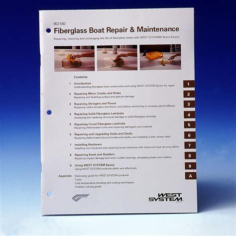 fiberglass boat repair book west system 002550 book fiberglass boat repair west