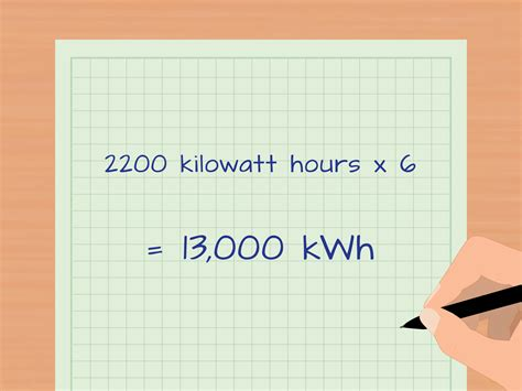 how to calculate kilowatt hours with calculator wikihow