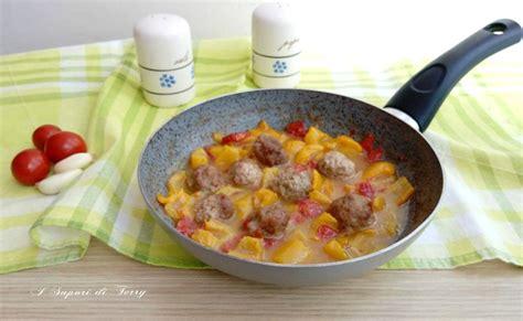 come si cucinano le polpette di carne polpette alla ricotta con peperoni