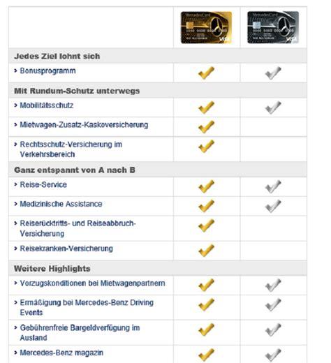 mercedes bank kreditkarte mercedes bank kreditkarte erfahrungen aus test note 8 7