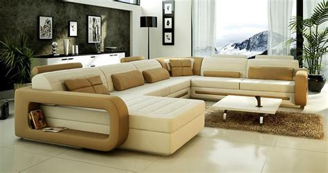 u shaped couch living room furniture 2015 lastest design u shape leather sofa living room sofa