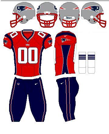 Kaos Sport Football New Patriots Alternate Logo 1 2000 2012 fashion american handegg uniforms part 1
