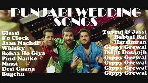 Wedding Song Jukebox by Greatest Wedding Songs Jukebox Punjabi Wedding